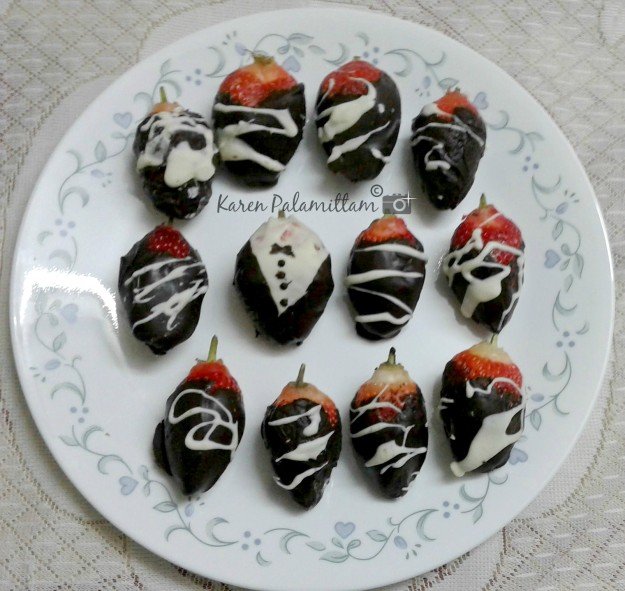 Chocolate Covered Strawberries are really easy and a quick dessert to make for any kind of celebration.